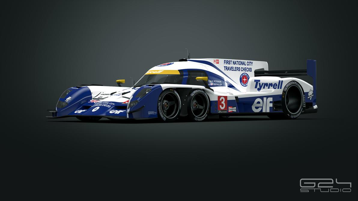 Tyrrell P016 LMP1 - front by KarayaOne