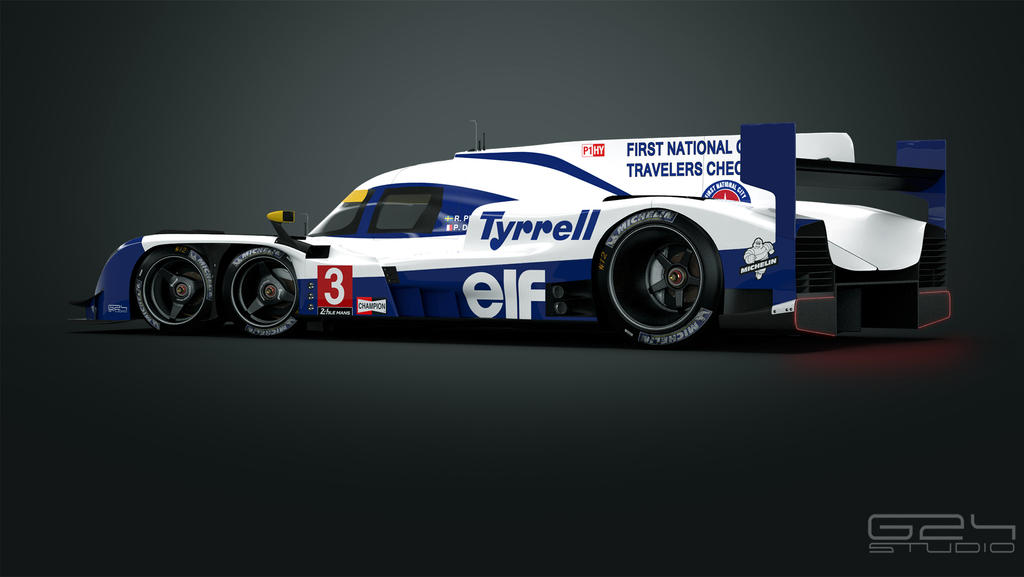 Tyrrell P016 LMP1  - rear by KarayaOne