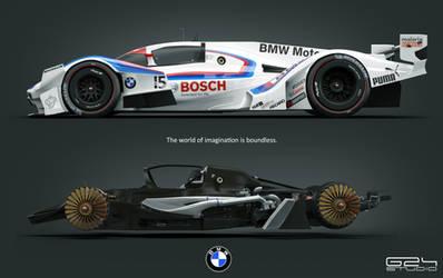 BMW MR1  Michelin 2030 challenge