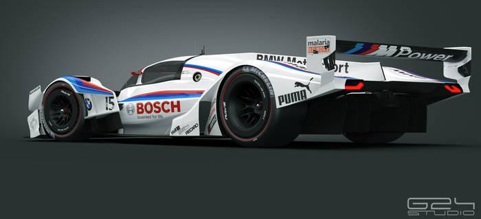 BMW MR1 Rear