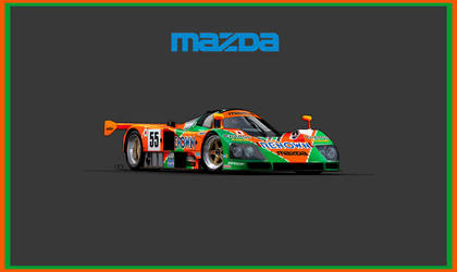 Mazda  787B Vector