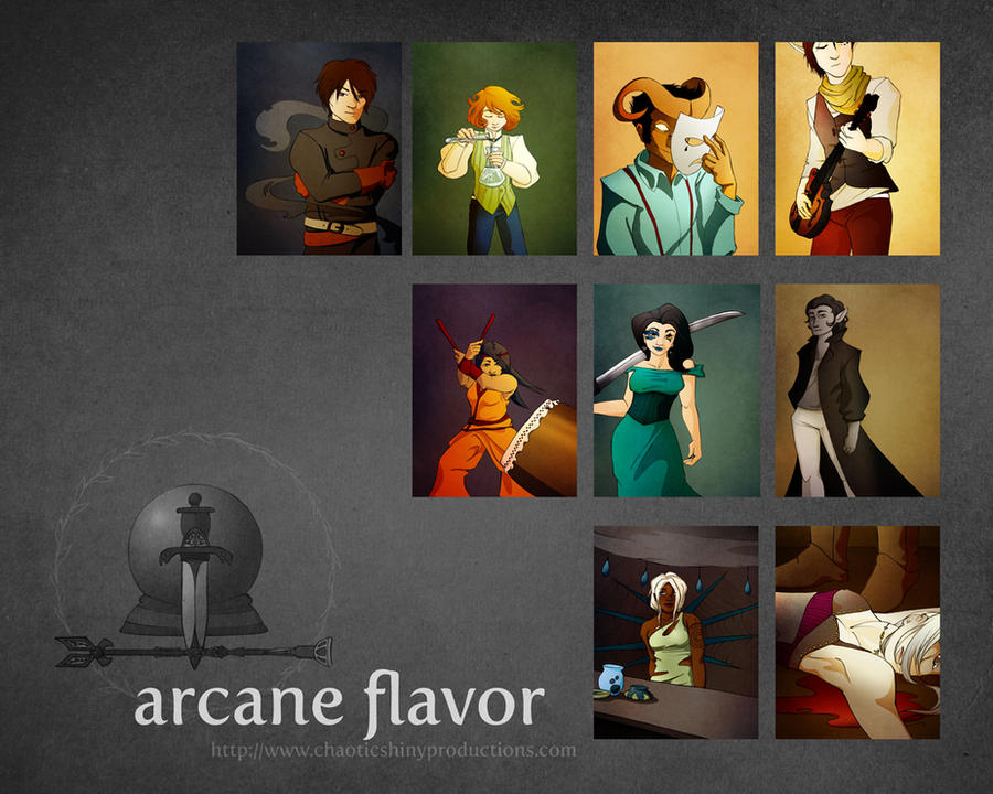 Arcane Flavor: Wall