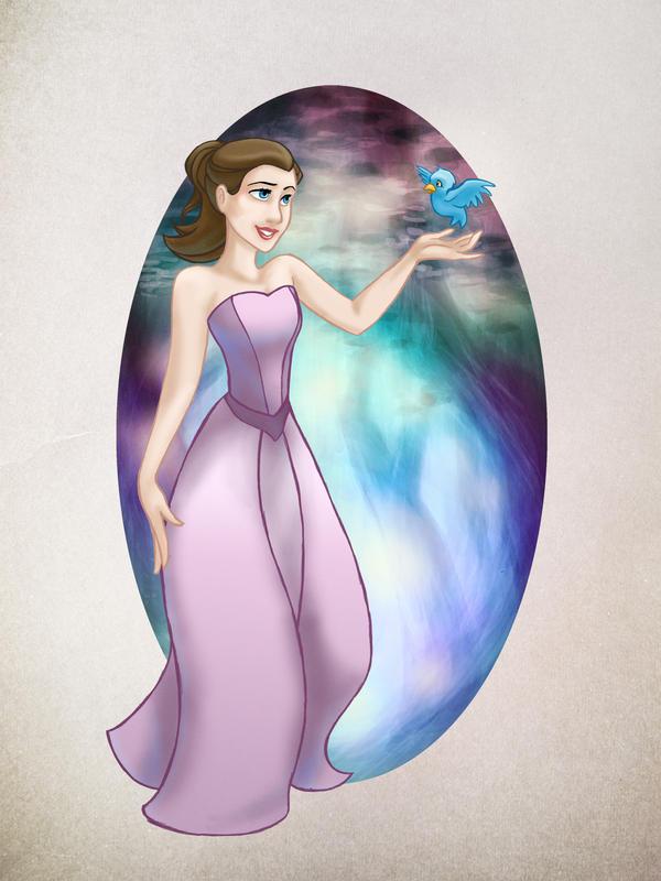 Princess Emily by digital-marginalia