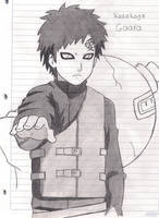 Gaara by MariChanX3
