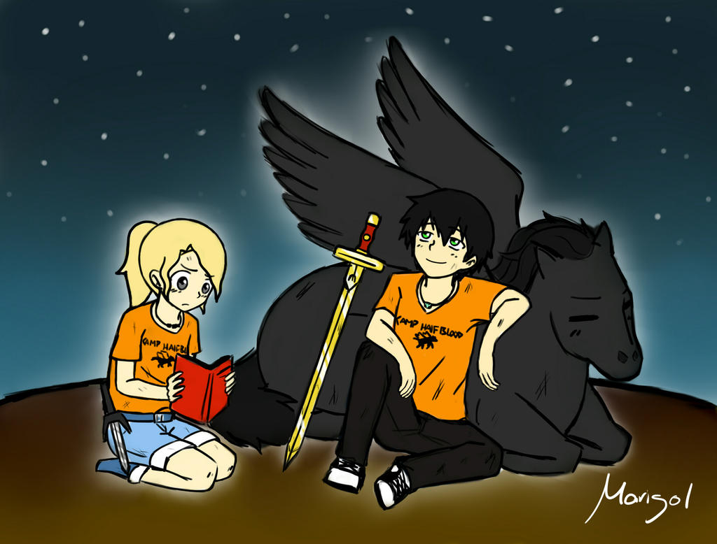 Percabeth by MariChanX3