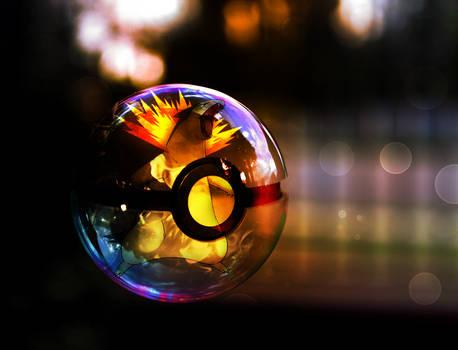 Typhlosion pokeball