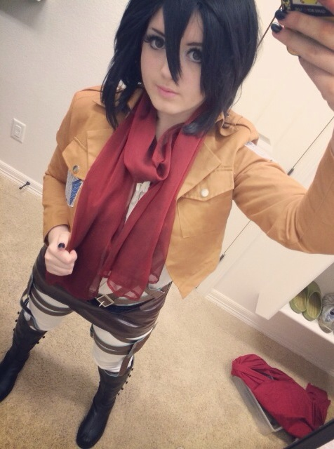 Mikasa Ackerman Cosplay #6 by Jojoleeday
