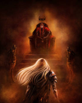 And Finrod fell before the Throne
