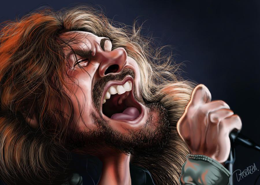 Eddie Vedder - Pearl Jam by danieltorazza