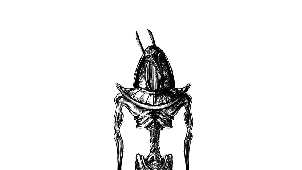 Anubis Doodle by Lushmoss
