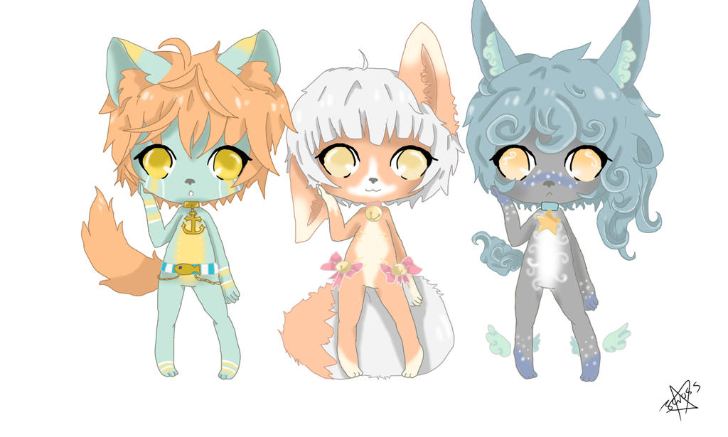 My Little Furry adoptable Batch (open) by Bunuu-tan