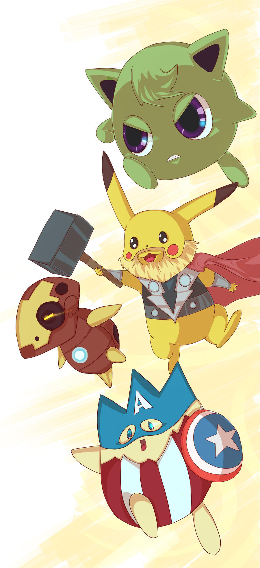 POKEVENGERS by TinyPunches