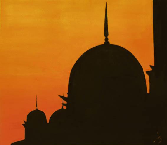 Sunset Silhouette by kittysparkle