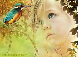 Hello...little bird by xeena-dragonkizz