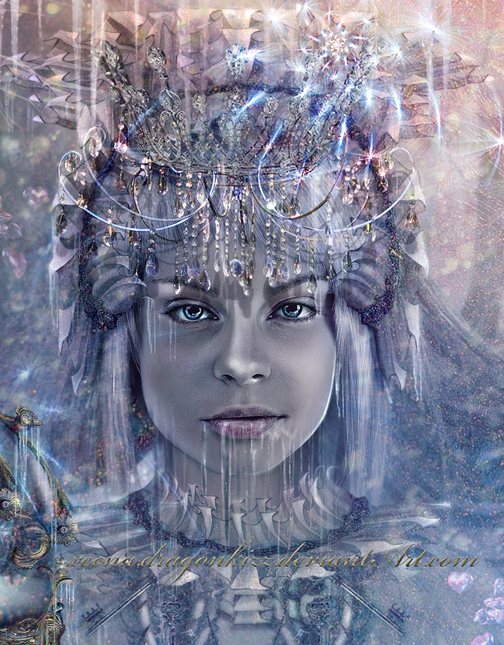 Winter Portrait by xeena-dragonkizz