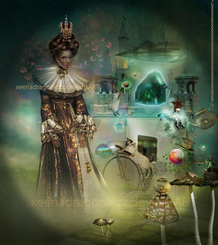 Journey of The Dark Crystal by xeena-dragonkizz