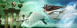 I Will Fly With You by xeena-dragonkizz