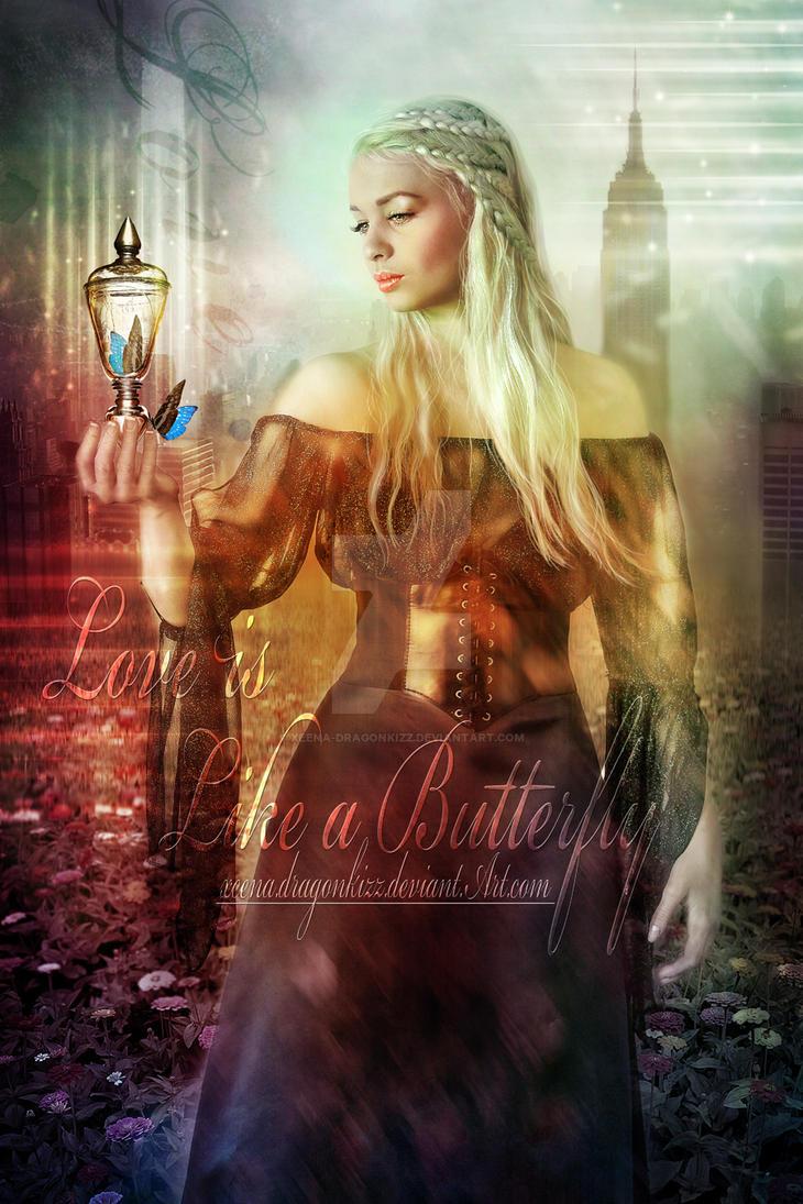 Love Is Like A Butterfly by xeena-dragonkizz