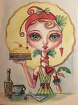 Alice and The lemon cake