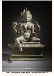 Kali Maa ( 11 CE - Copper Image) by Ravimishra085