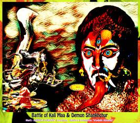 Tongue of Maa Kali by Ravimishra085