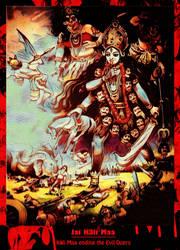 Kali Maa Ending Evil by Ravimishra085