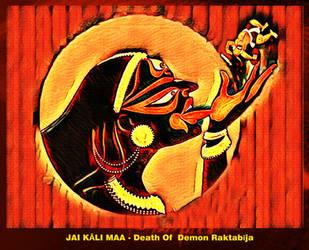 Kali Maa Ended Demon Raktbeej by Ravimishra085