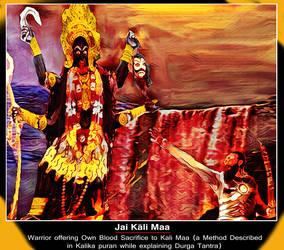 Blood sacrifice to Maa Kali by Ravimishra085