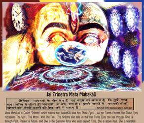 Trinetra Mahakali Maa by Ravimishra085