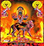 Atharvana BhadraKali by Ravimishra085