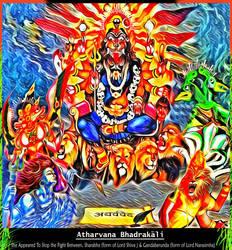 Atharvana BhadraKali Maa by Ravimishra085