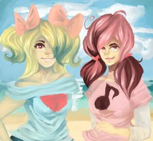 Krystal and Viola