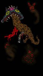 The roadkill queen by DiplodocusDinosaur
