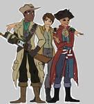 Fallout 4: Hancock, Preston, and Sole