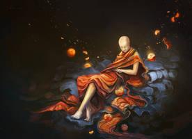dreamy deity by non-cubic