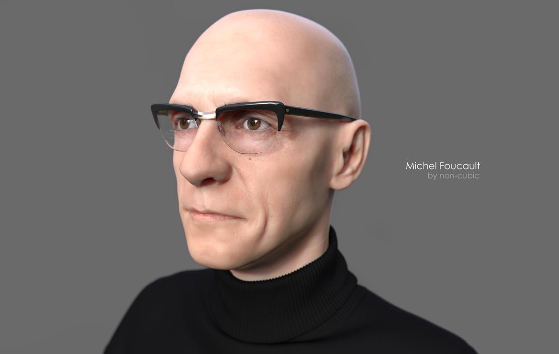 Michel Foucault by non-cubic