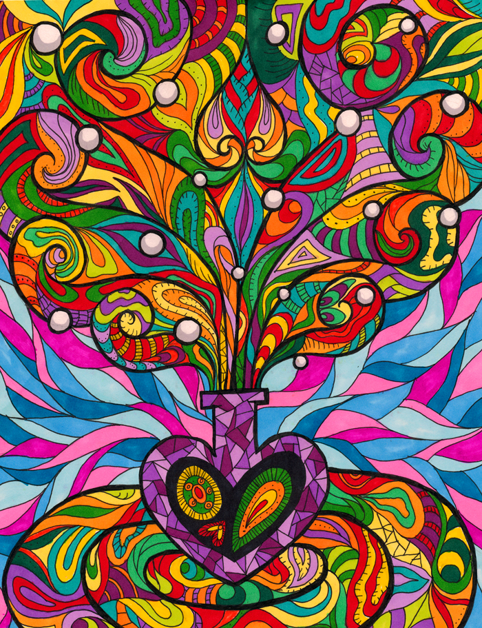 Purple Bottle by Liquid-Mushroom