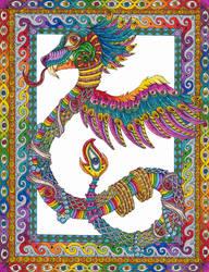 Quetzalcoatl by Liquid-Mushroom