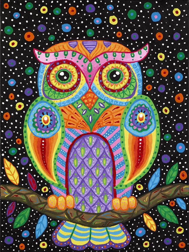 Octavia Owl by Liquid-Mushroom