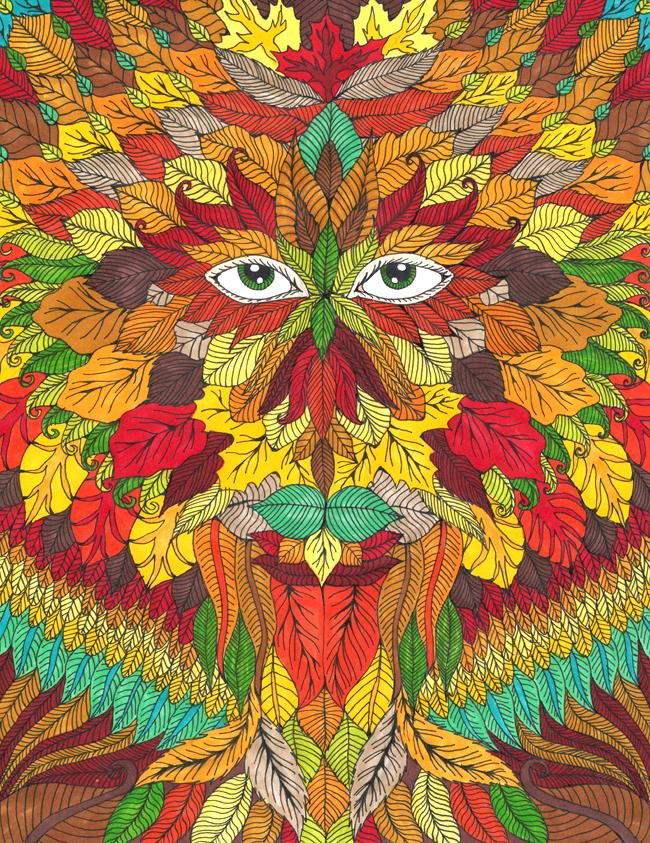Autumn Goddess by Liquid-Mushroom on DeviantArt