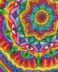 Awkward Off-Center Mandala by Liquid-Mushroom