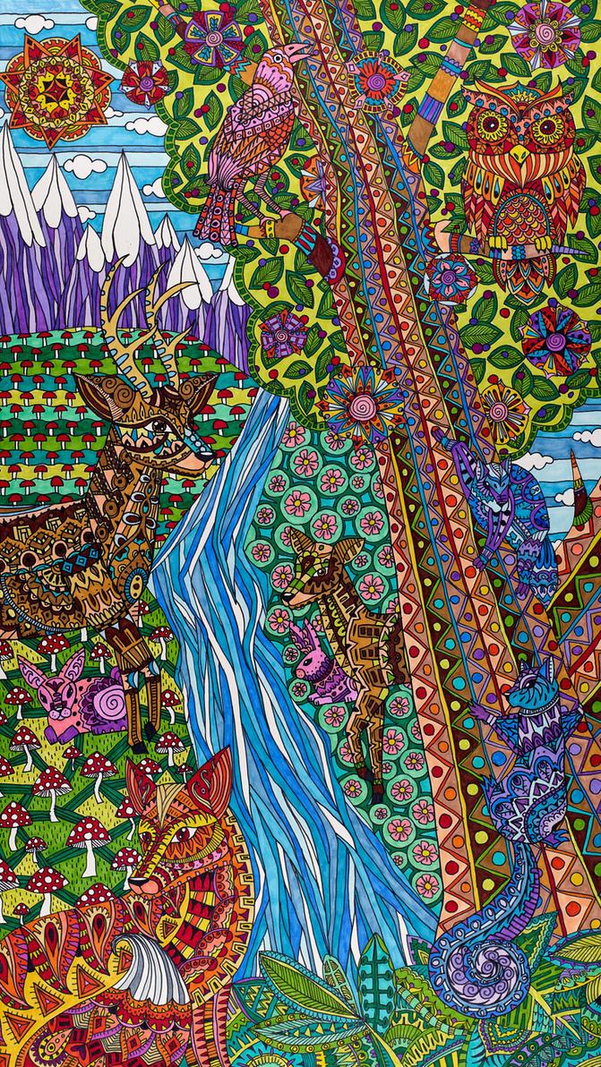 Boreal Wonderland by Liquid-Mushroom