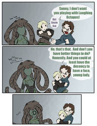 just hysterical -MGS4- by zarla