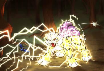 Yanni dodged the attack! by zarla