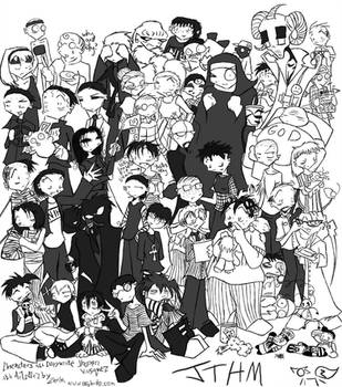The Entire JTHM Cast by zarla