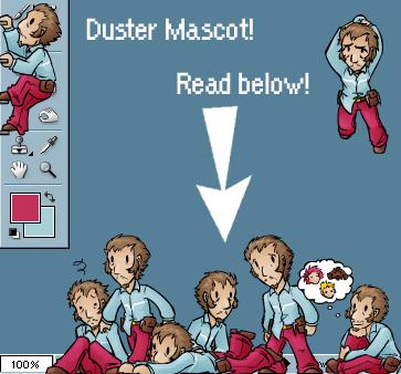 Duster Shimeji by zarla