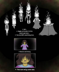 [UNDERTALE SPOILERS] Jumping to conclusions