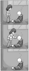 [UNDERTALE SPOILERS] 0 exp and 0 gold by zarla