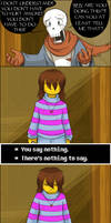 [UNDERTALE SPOILERS] there's no answer by zarla
