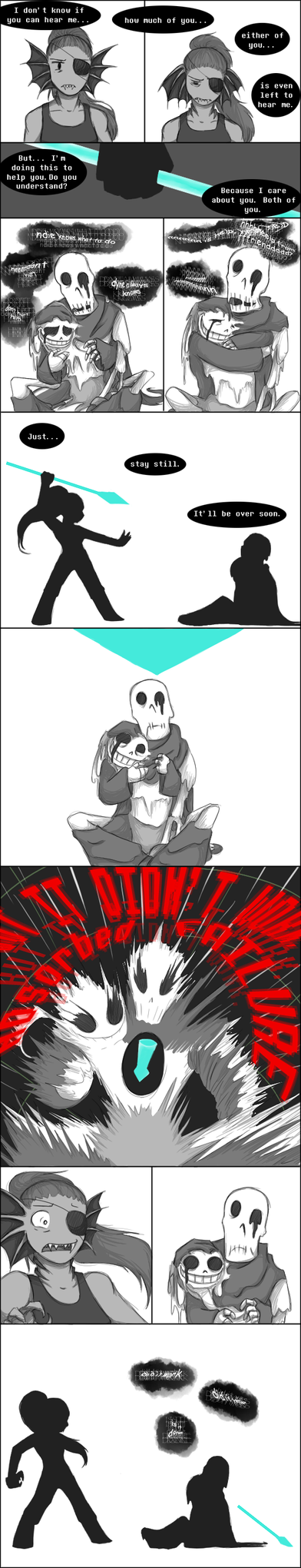 [UNDERTALE SPOILERS] We will live forever by zarla